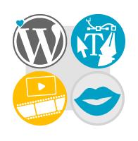 Homepage erstellen lassen mit Webdesign aus Augsburg Text Grafik und Video