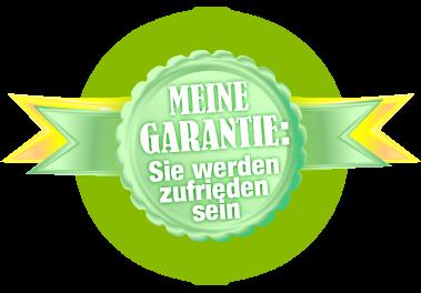 Garantie Zufriedenheit Website Erstellung